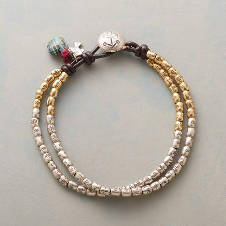 RUBIES AND RAINBOWS BRACELET