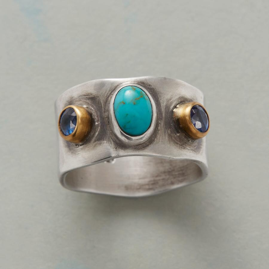KYANITE BY YOUR SIDE RING