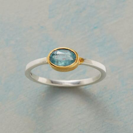 CLEARLY BLUE RING