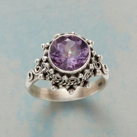 AMETHYST BUTTERCREAM RING