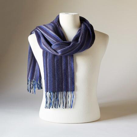 MACLAUGHLIN STRIPED SCARF