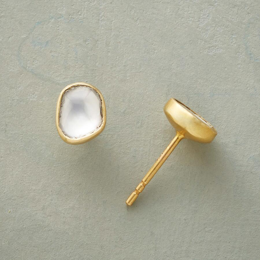 DIAMOND ARC EARRINGS