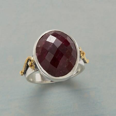 EARTHEN RED RING