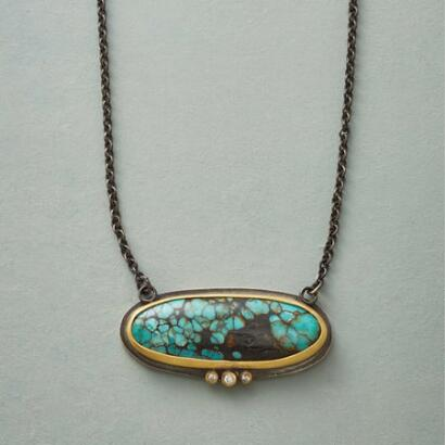 MODERN MIX TURQUOISE NECKLACE