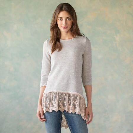 TRIMMED IN STARDUST TOP