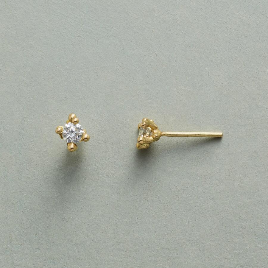 BUBBLY DIAMOND EARRINGS