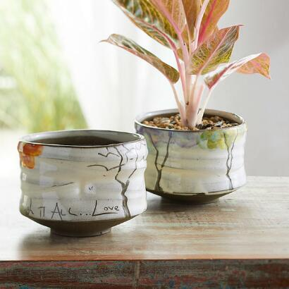 SENTIMENT FOUR SEASONS CACHE POT