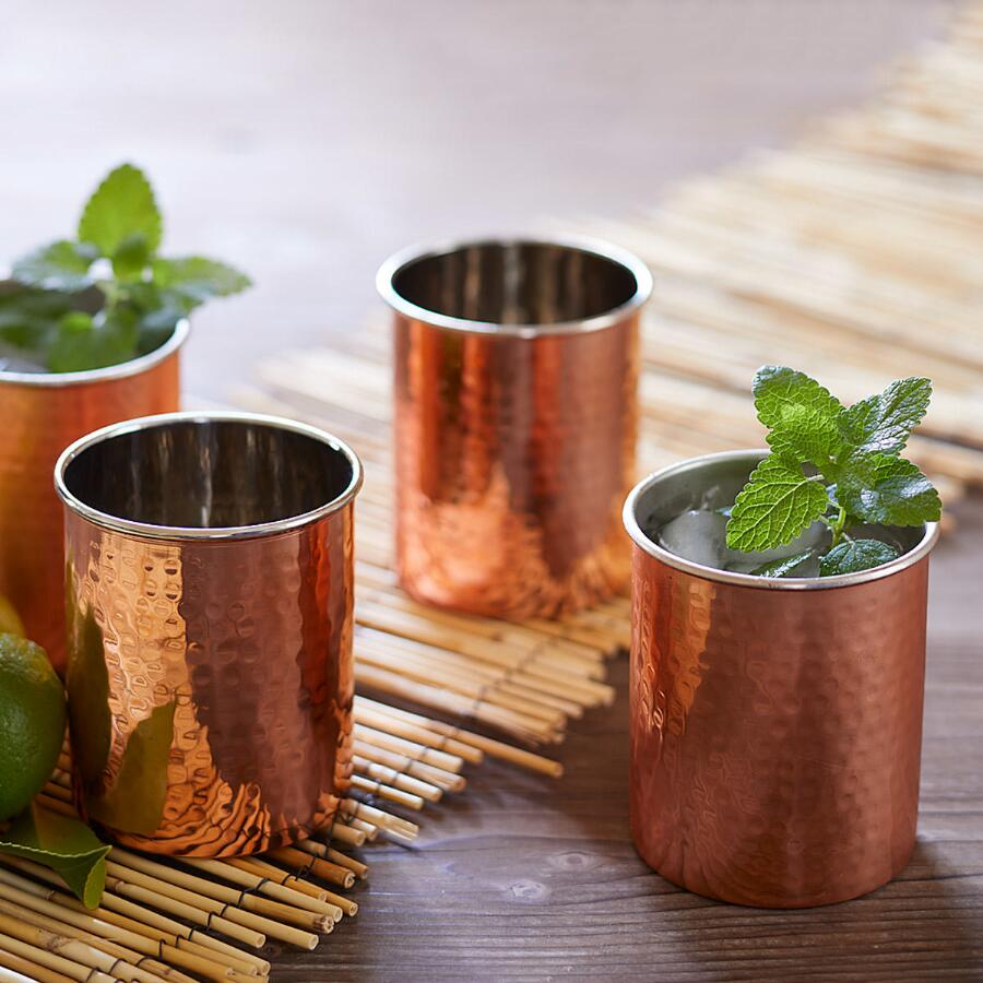 MOSCOW MULE CUPS, SET OF 4