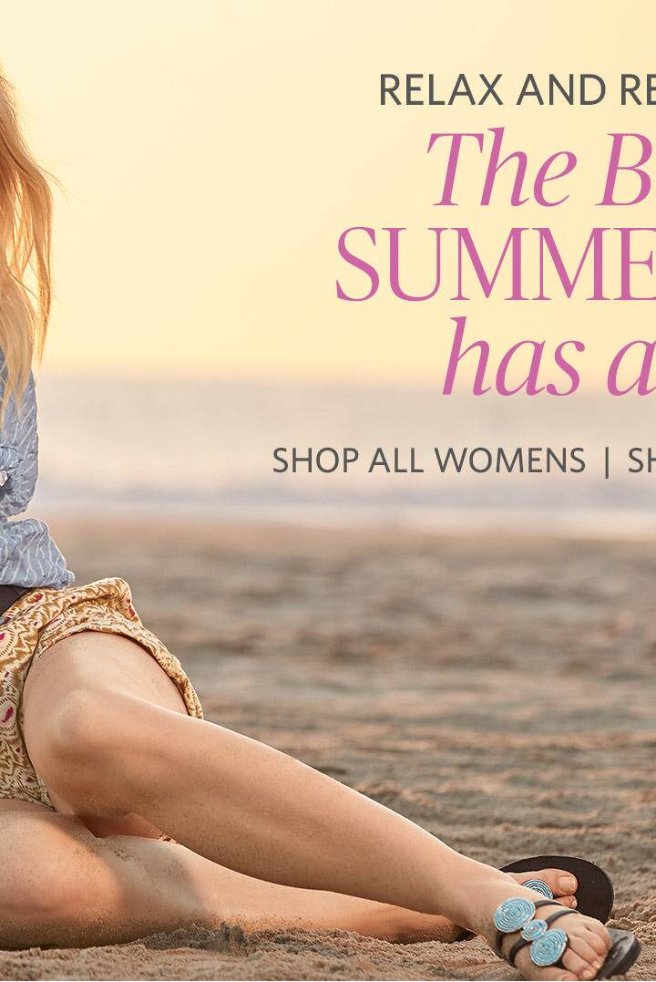 The Best of Summer Has Arrived-Shop All Womens