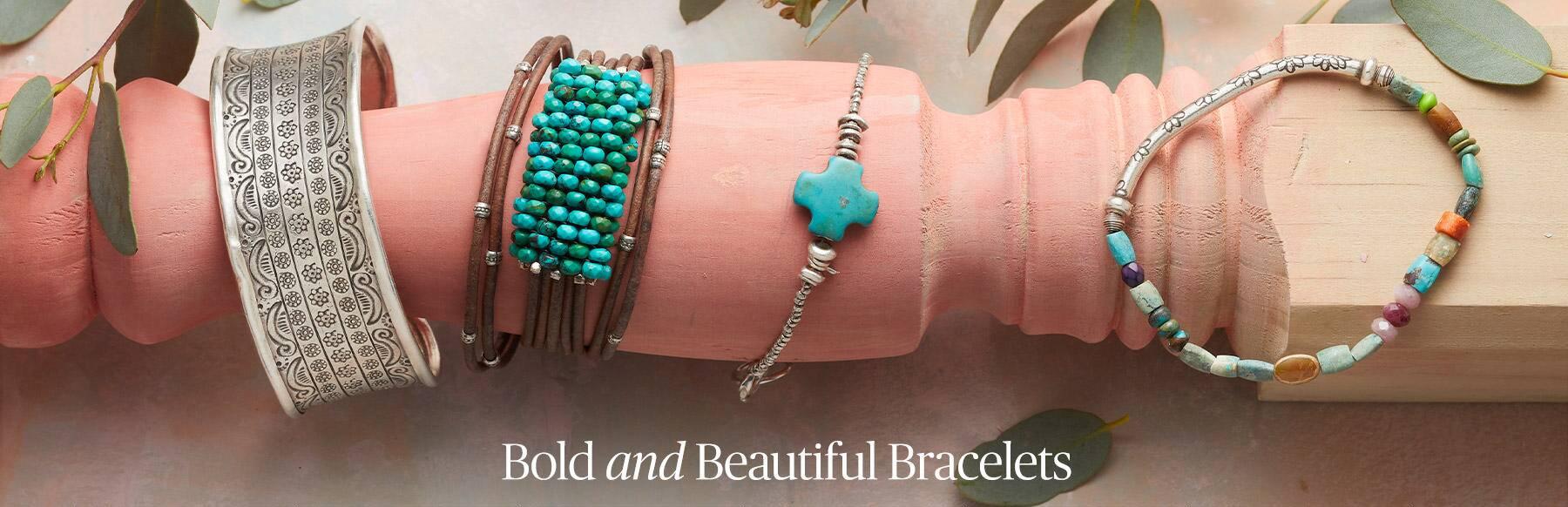 Bold and Beautiful Bracelets