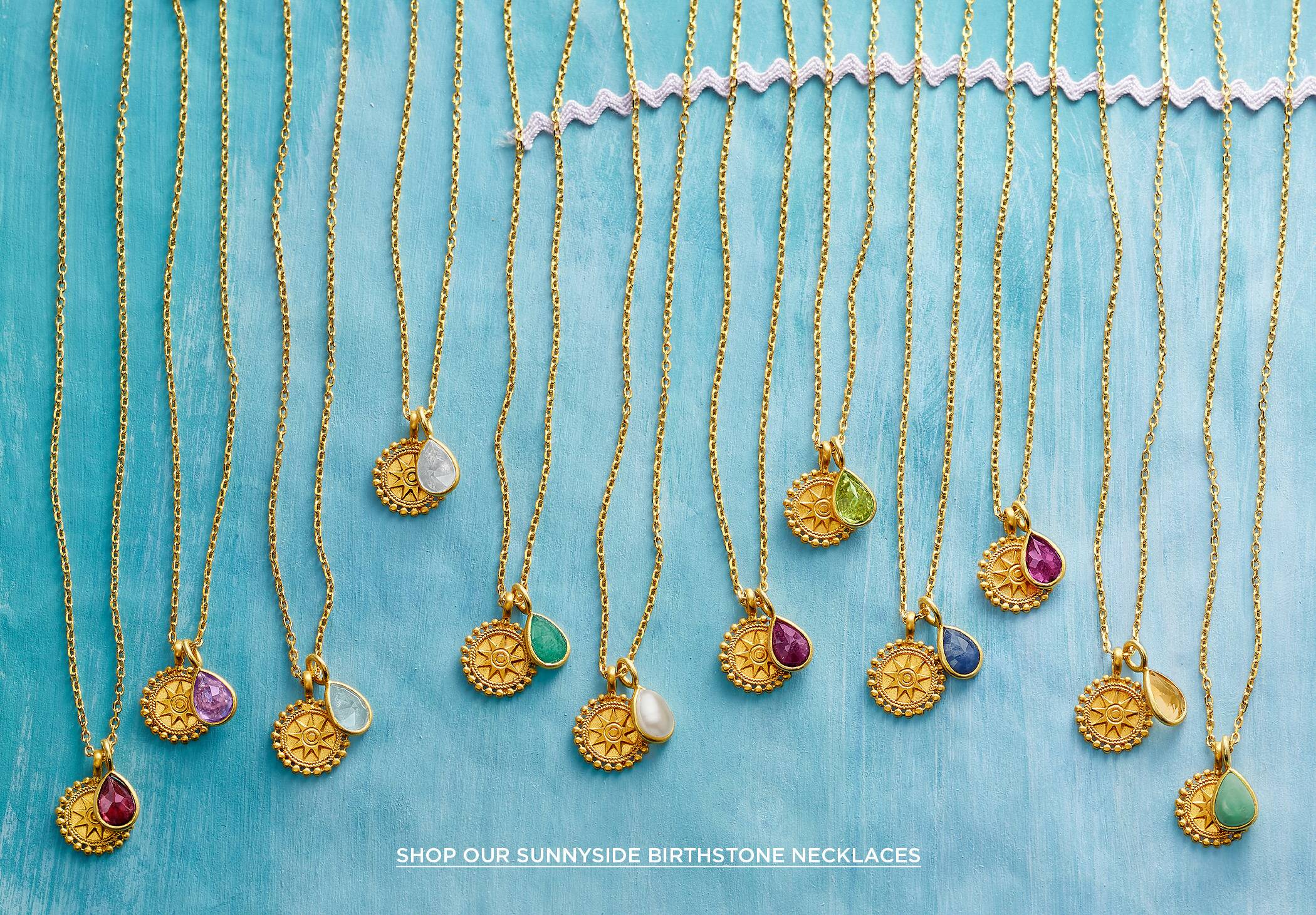 Sunnyside Birthstone Necklaces