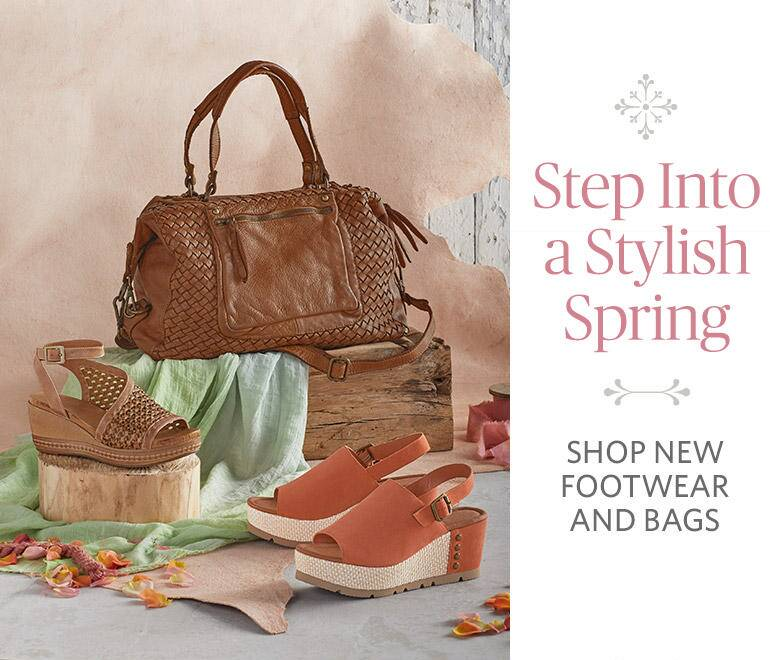 Shop New Footwear and Bags