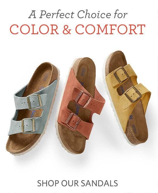 Shop our Sandals