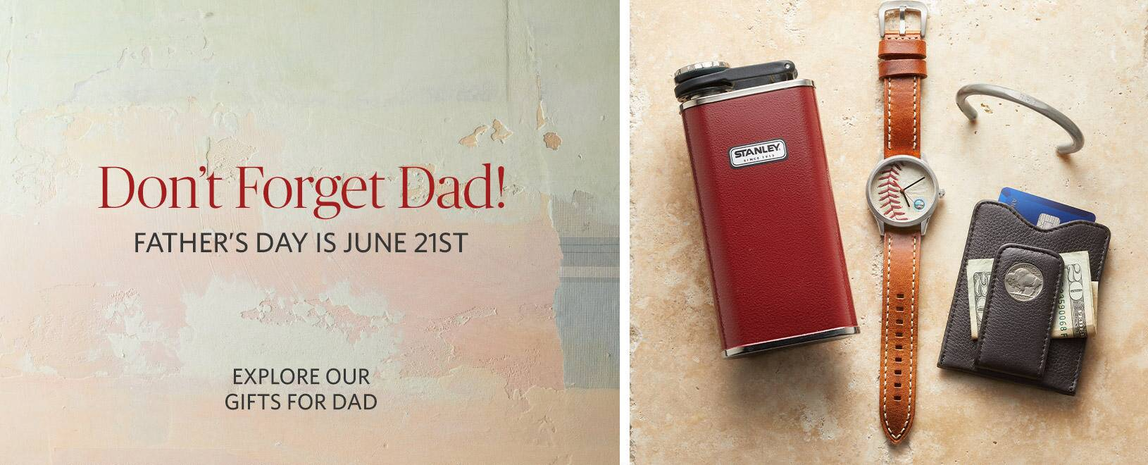 Don't forget Dad!