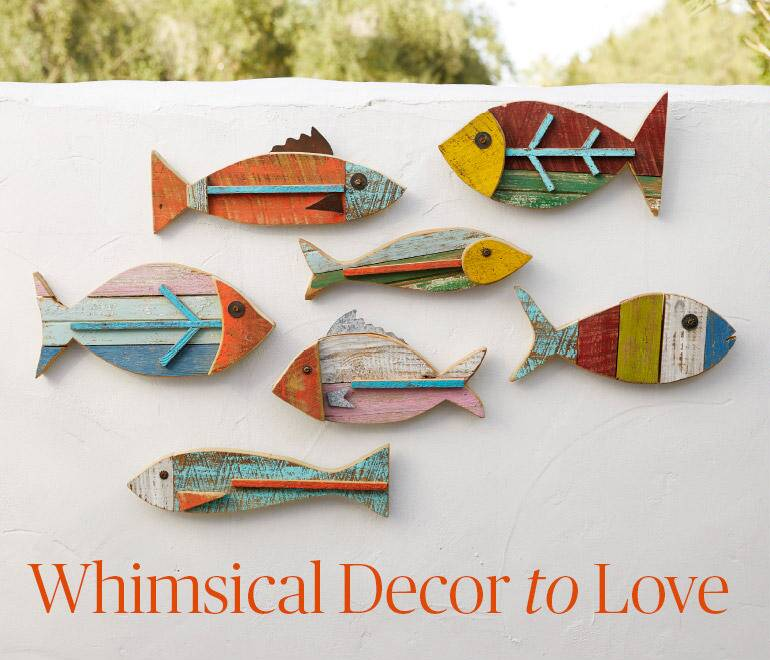 Whimsical to Decor to Love