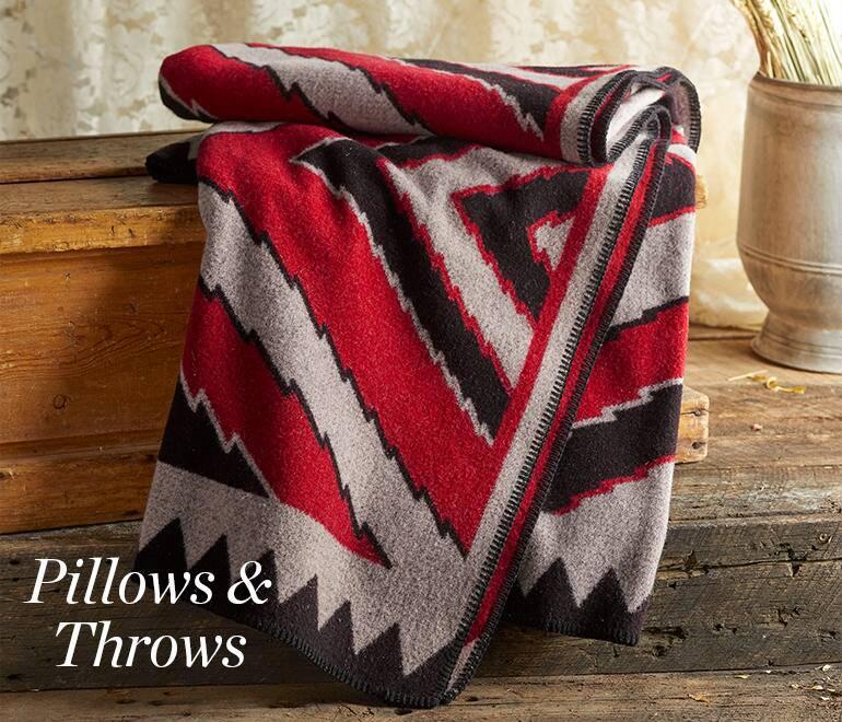 Pillows & Throws | Robert Redford\'s Sundance Catalog