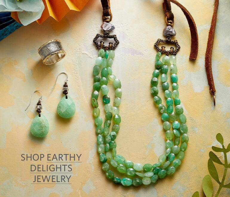 Shop the Collection of Earthy Delights