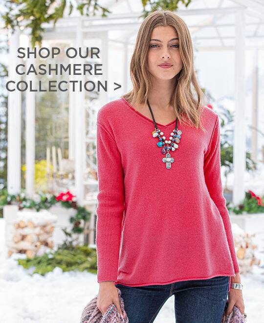 Shop Our Cashmere Collection