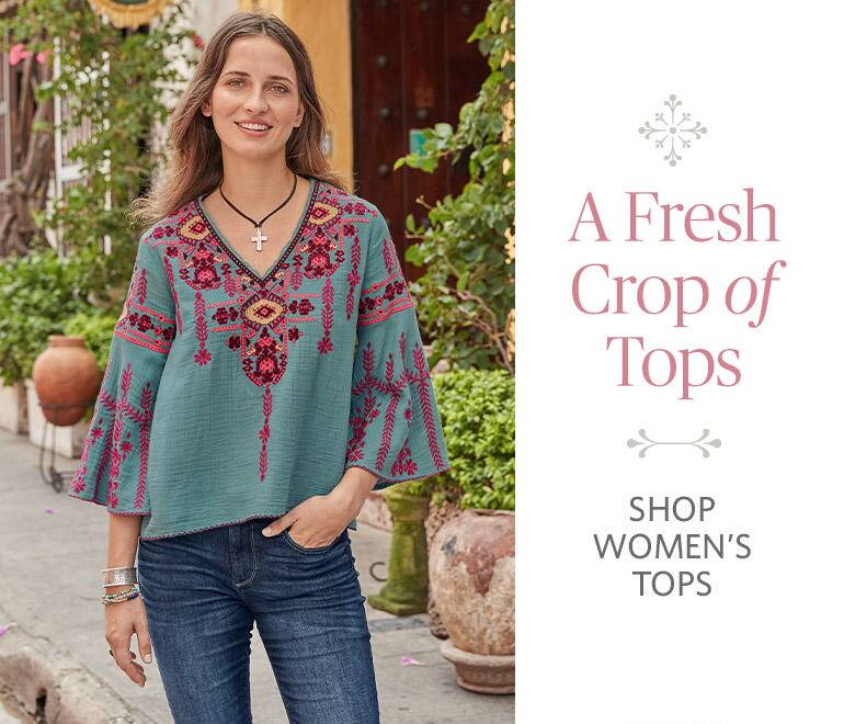 Shop Womens Tops