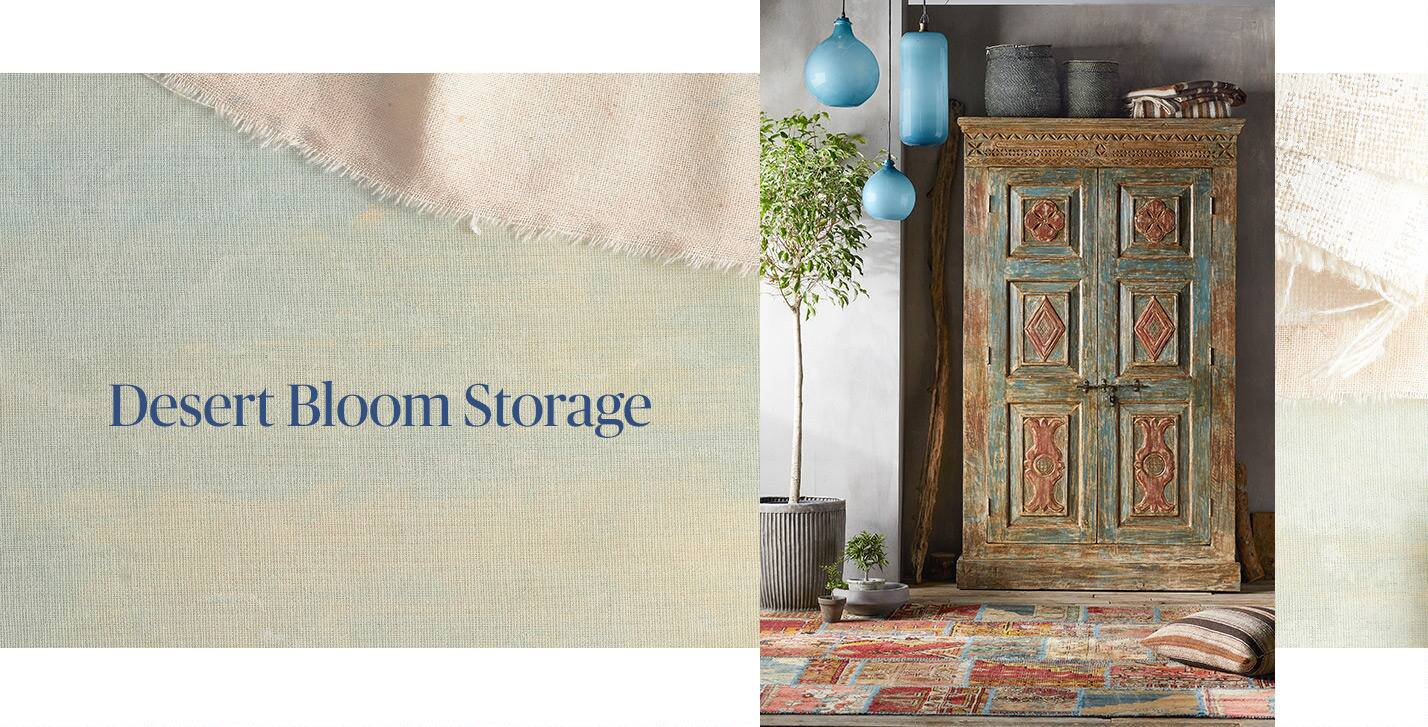 Desert Bloom Storage Room