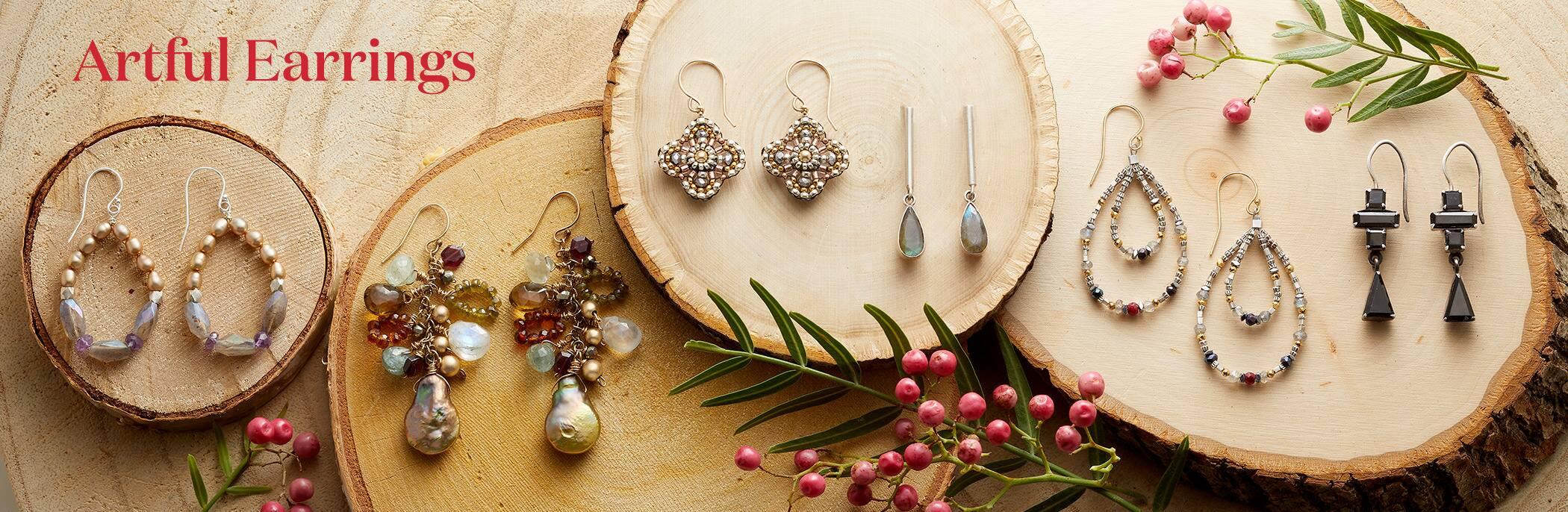 Artful Earrings