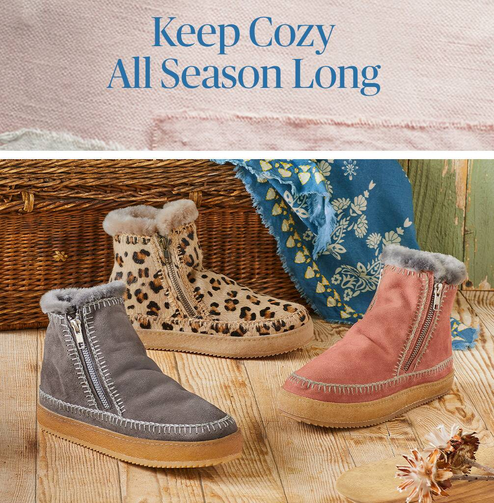 Keep COzy All Season Long