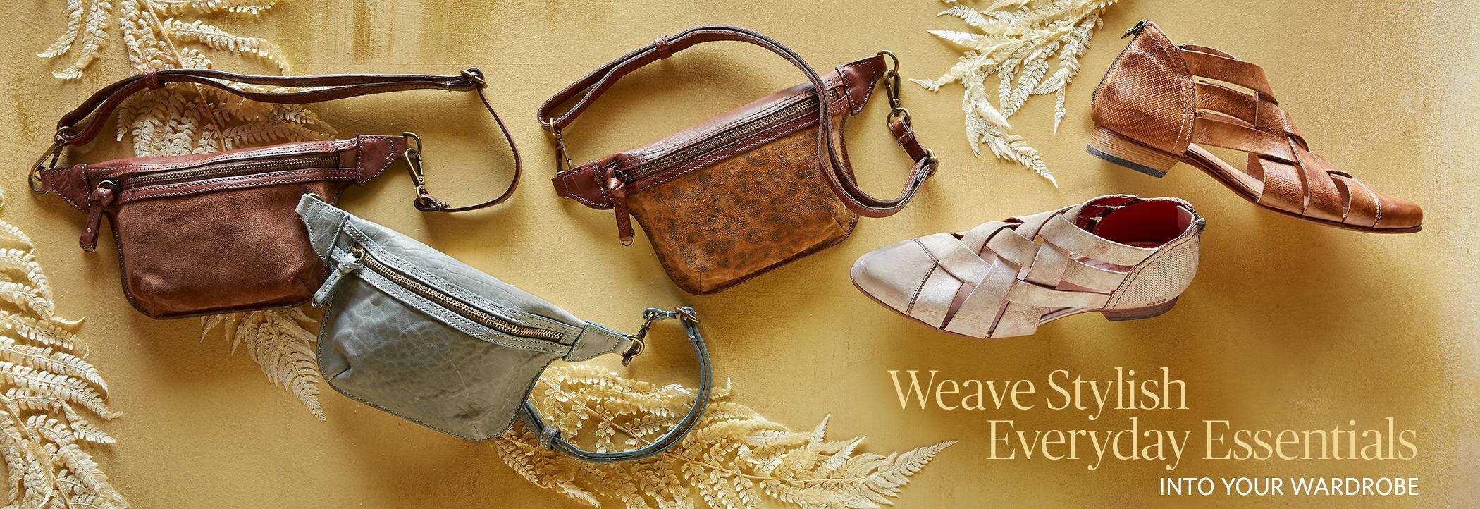Weave Stylish Everyday Essential into your Wardrobe