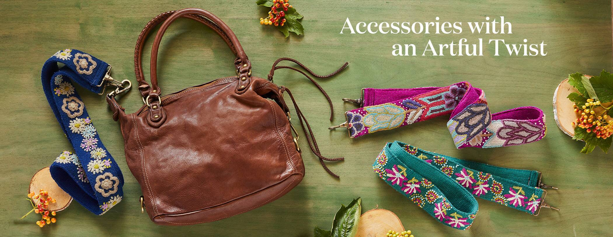 Accessories with an Artful Twist