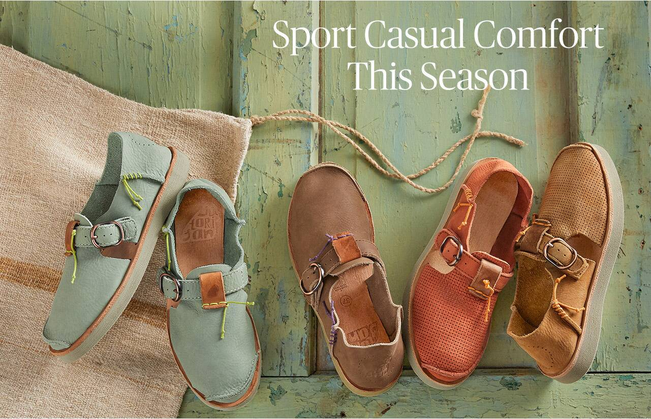 Sport Casual Comfort this Spring
