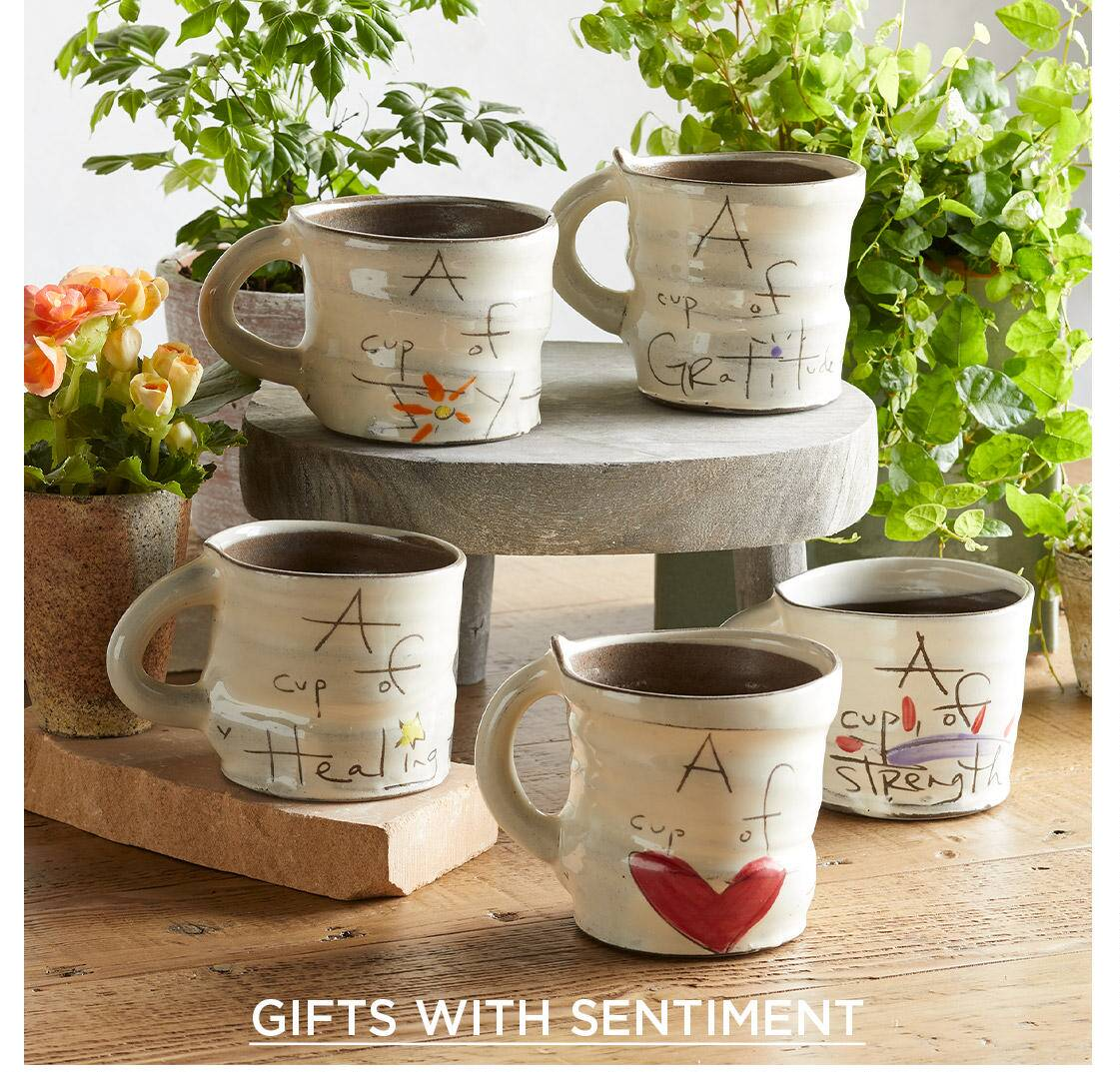 Gifts with sentiment