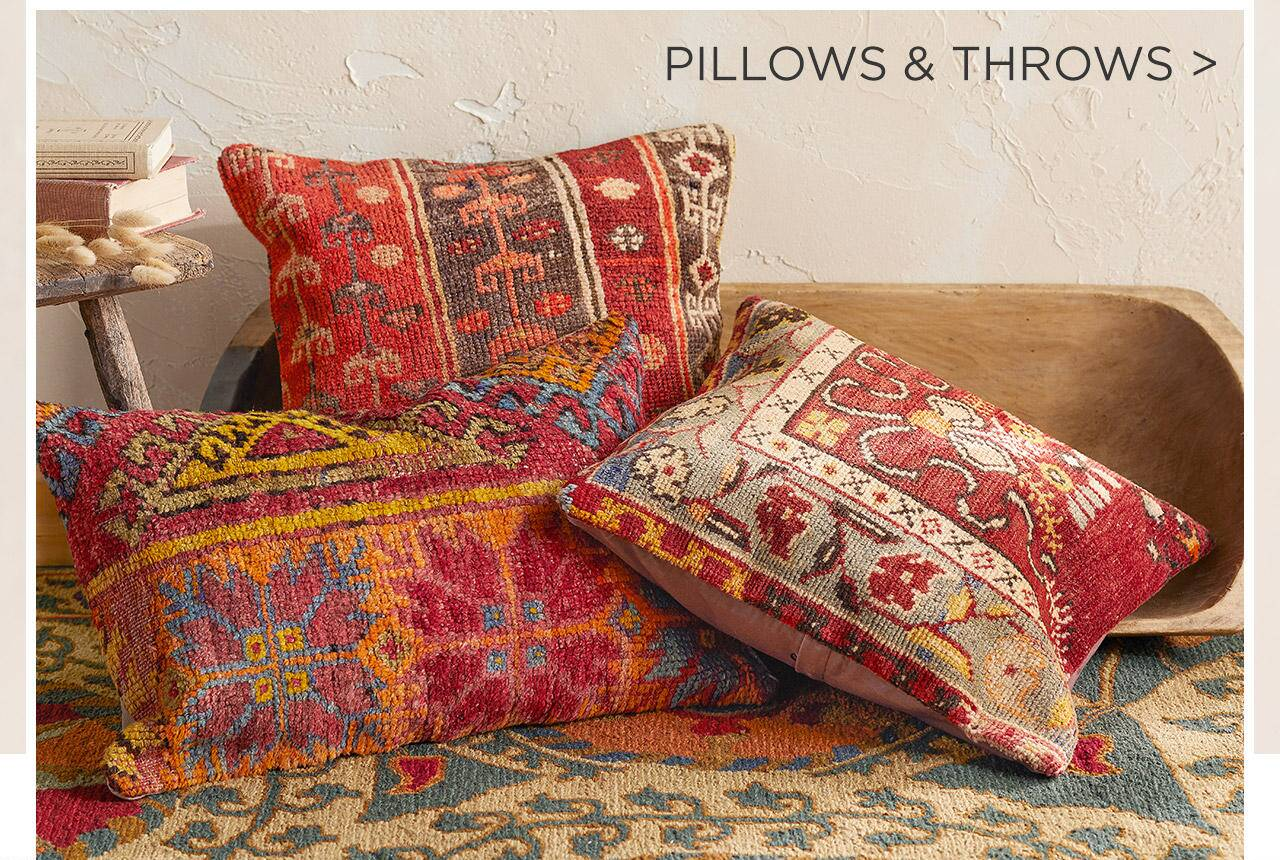 Pillows and Throws