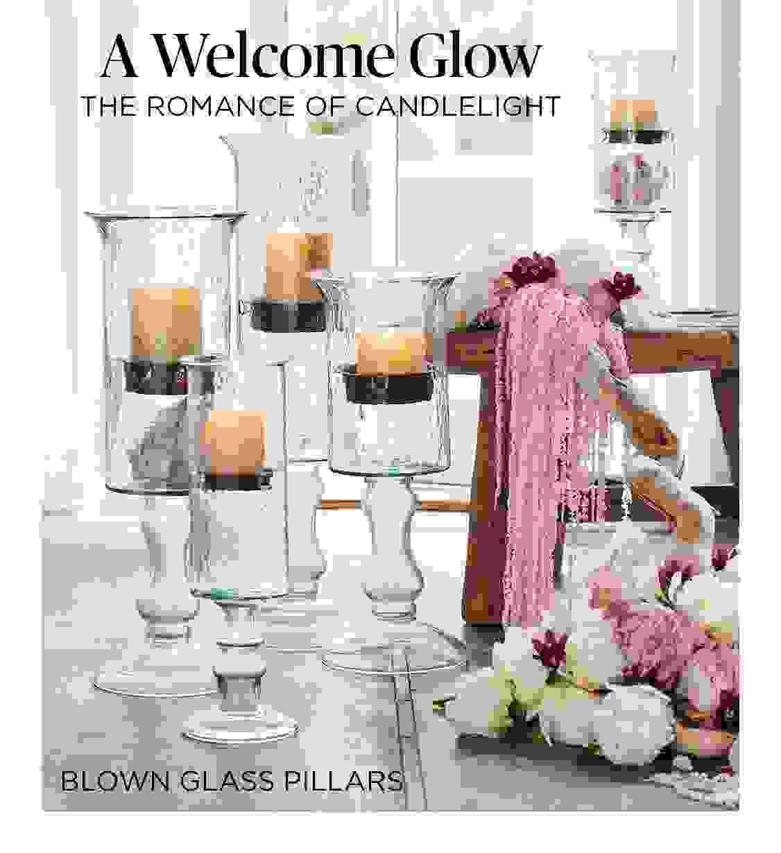Blown Glass Pillars