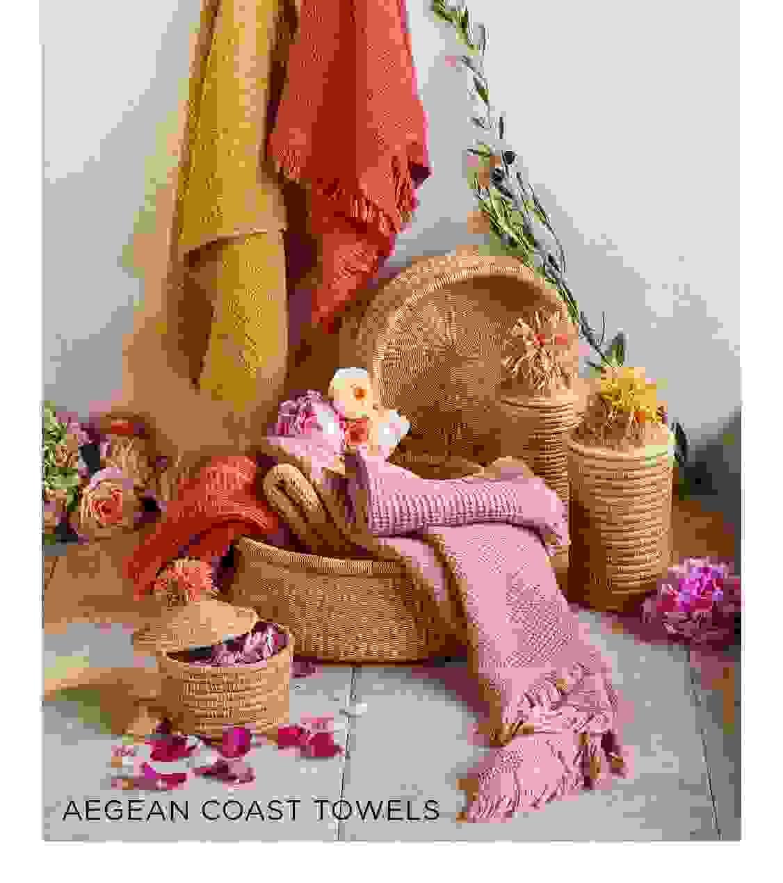 Aegean Coast Towels