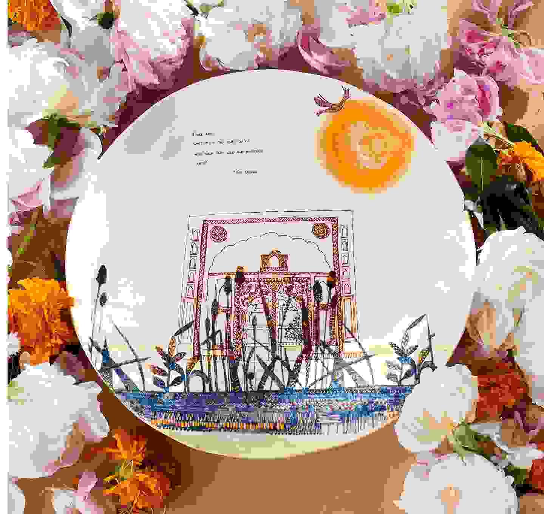 Wild and Precious Life Platter