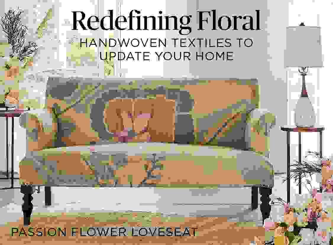 Passion Flower Loveseat