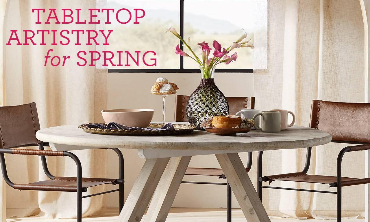 Tabletop Artistry for Spring