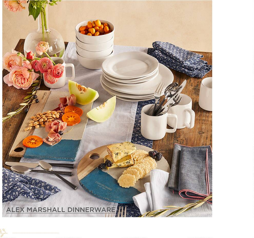 Alex Marshall Dinnerware