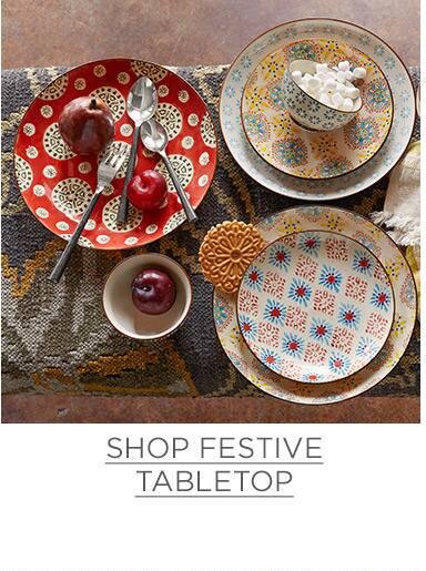 Shop Festive Tabletop