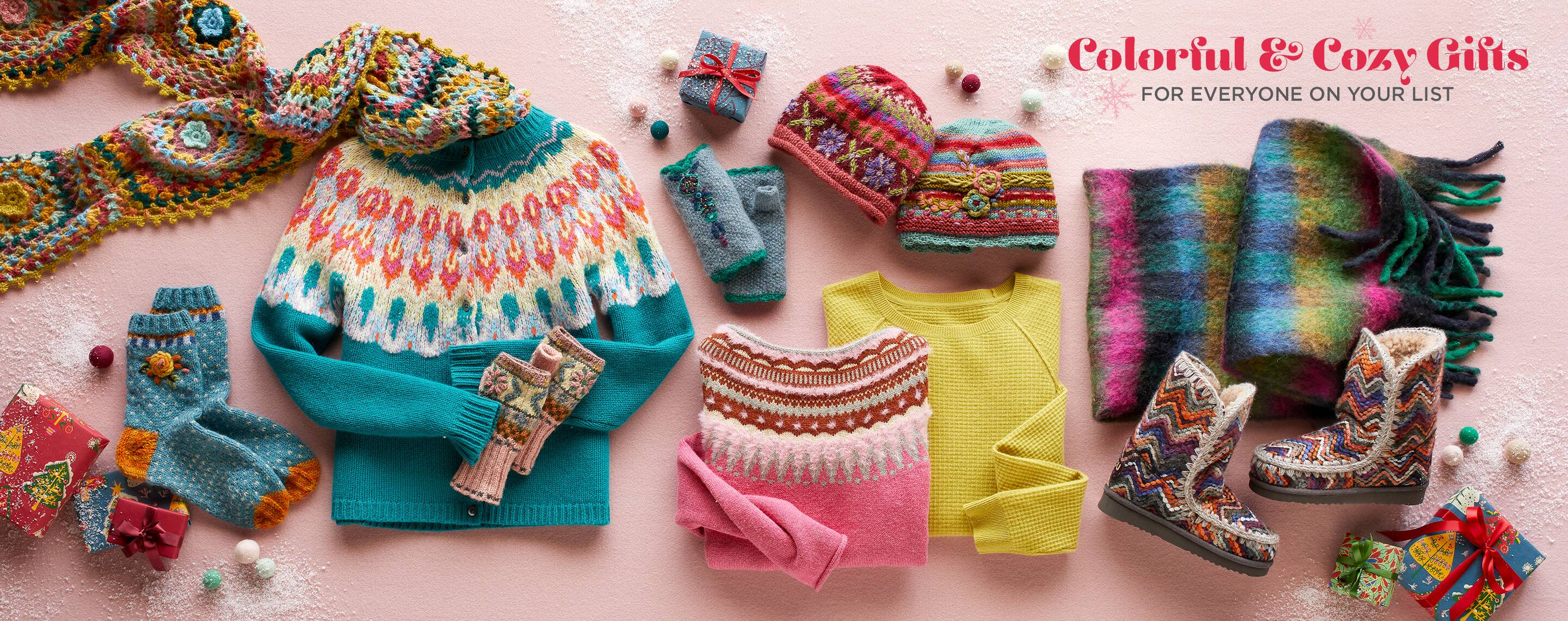 Cozy, Colorful Gifts