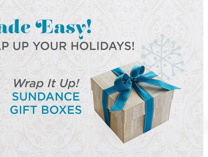 Sundance Gift Boxes