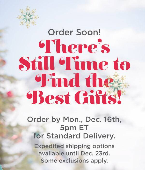 Get It In Time For Christmas