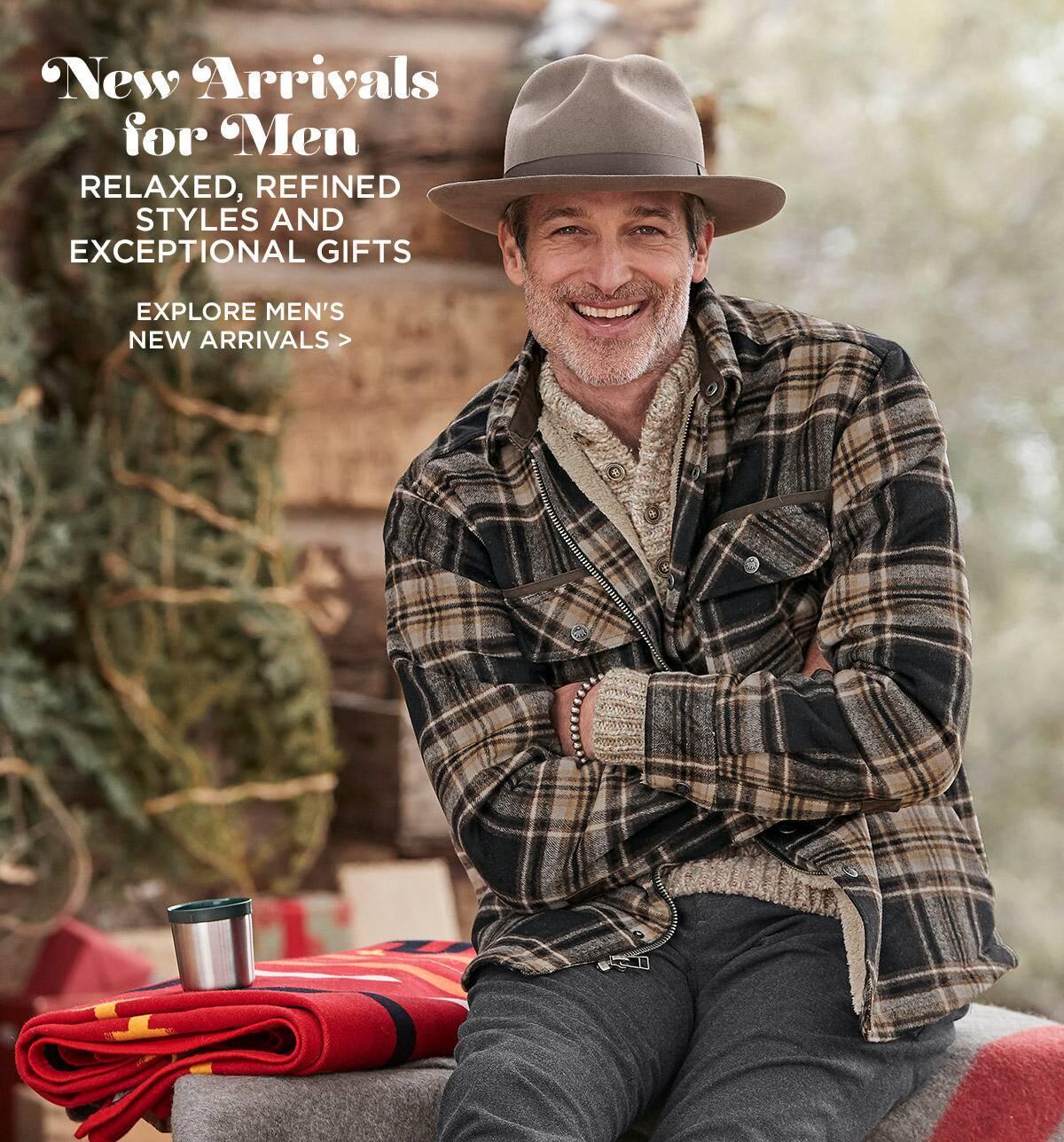 New Men's Arrivals