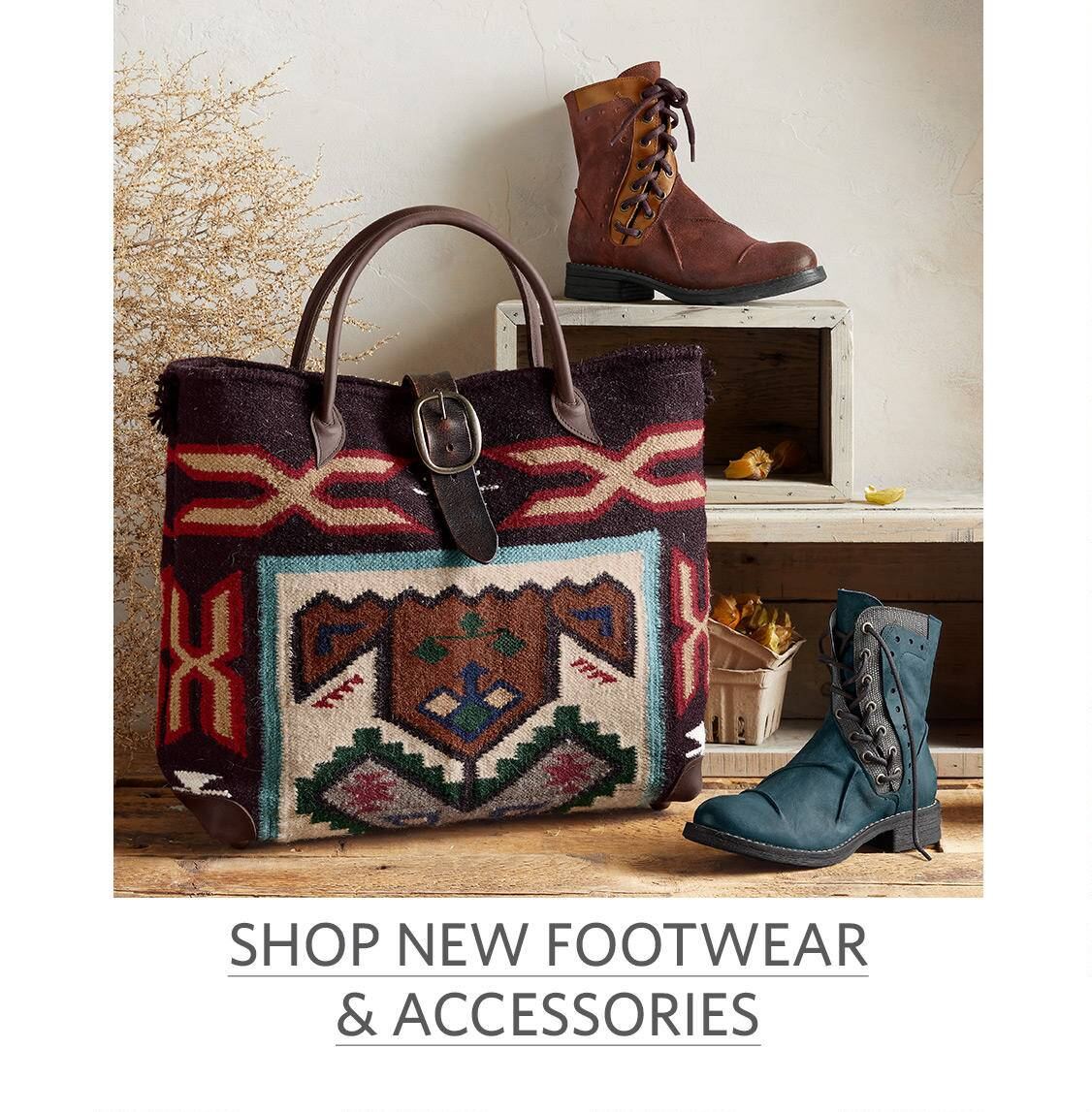 New Footwear and Accessories
