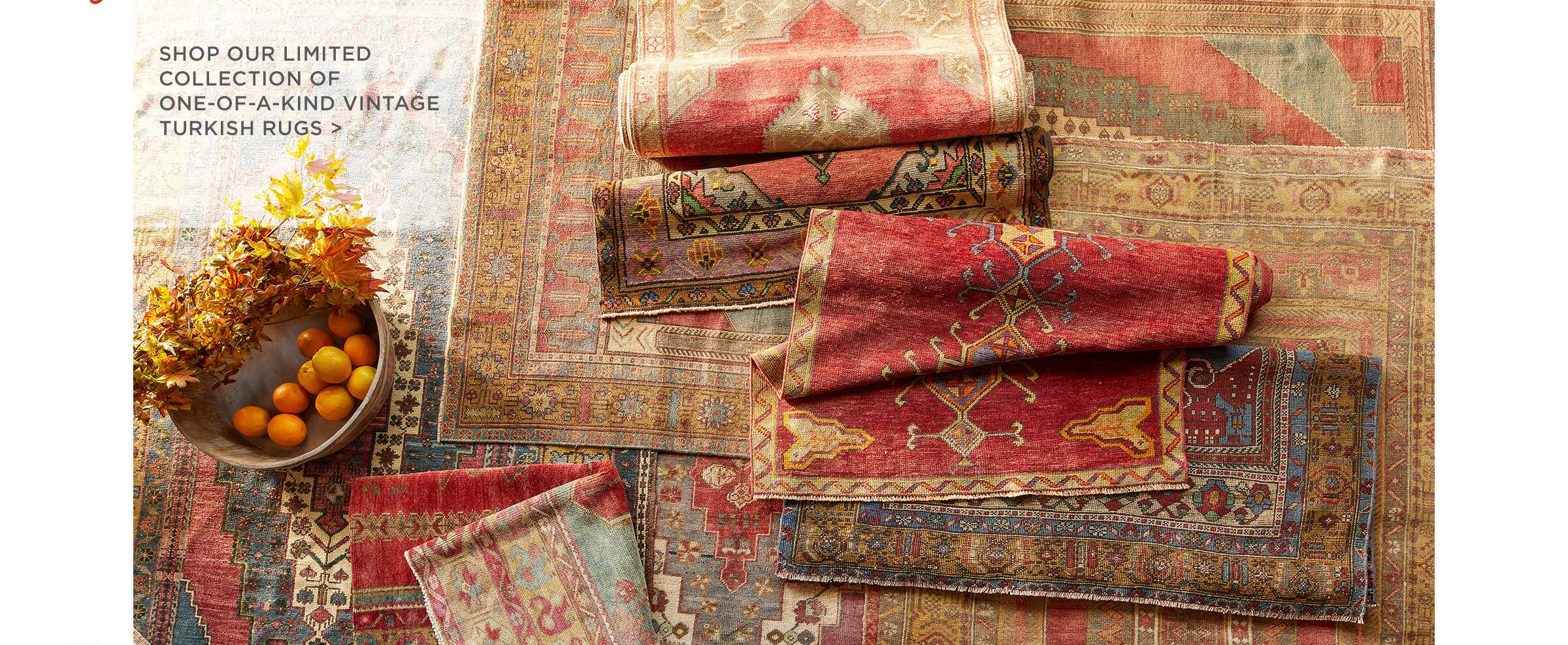 One-Of-A-Kind Turkish Rugs