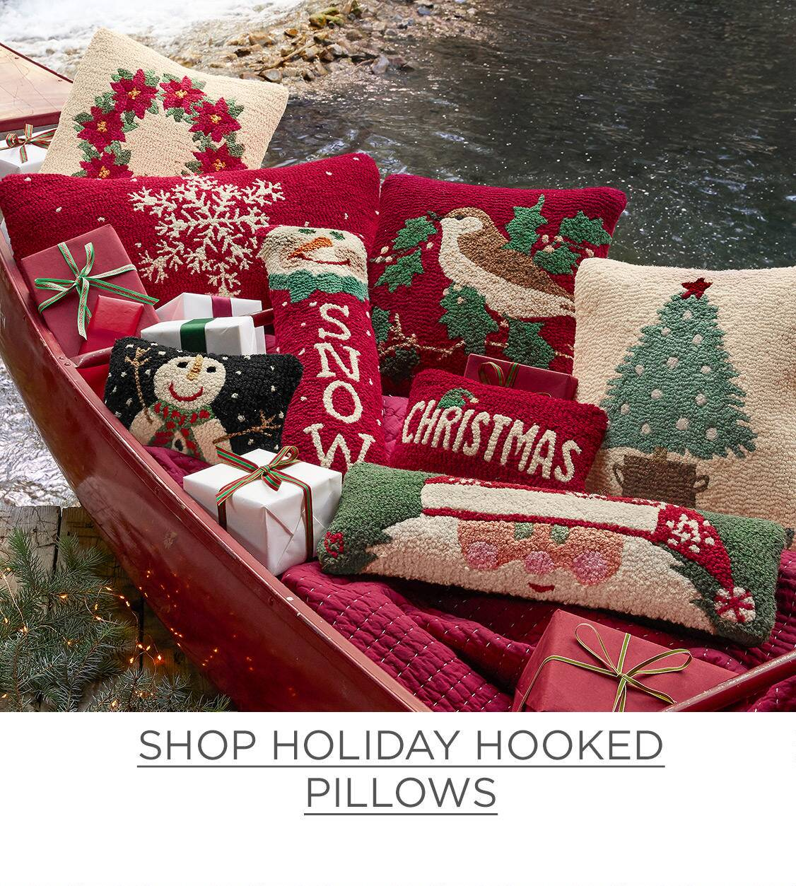 Shop Holiday Pillows