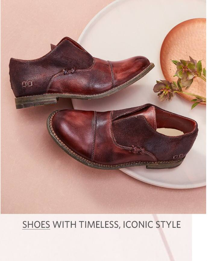 Shoes with Timeless Iconic Style