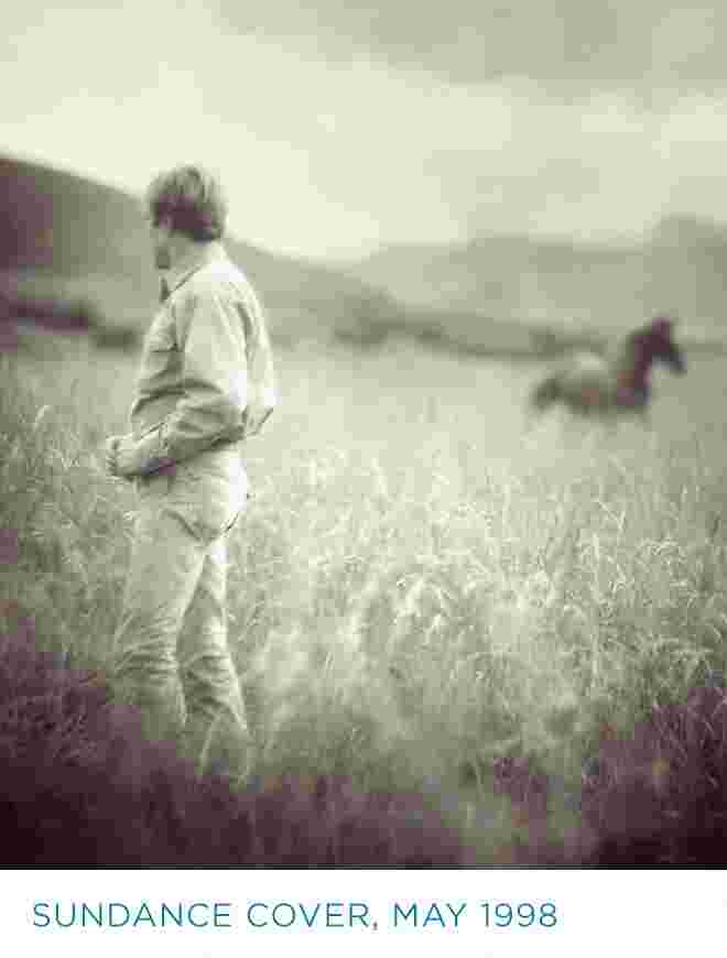 Redford in field