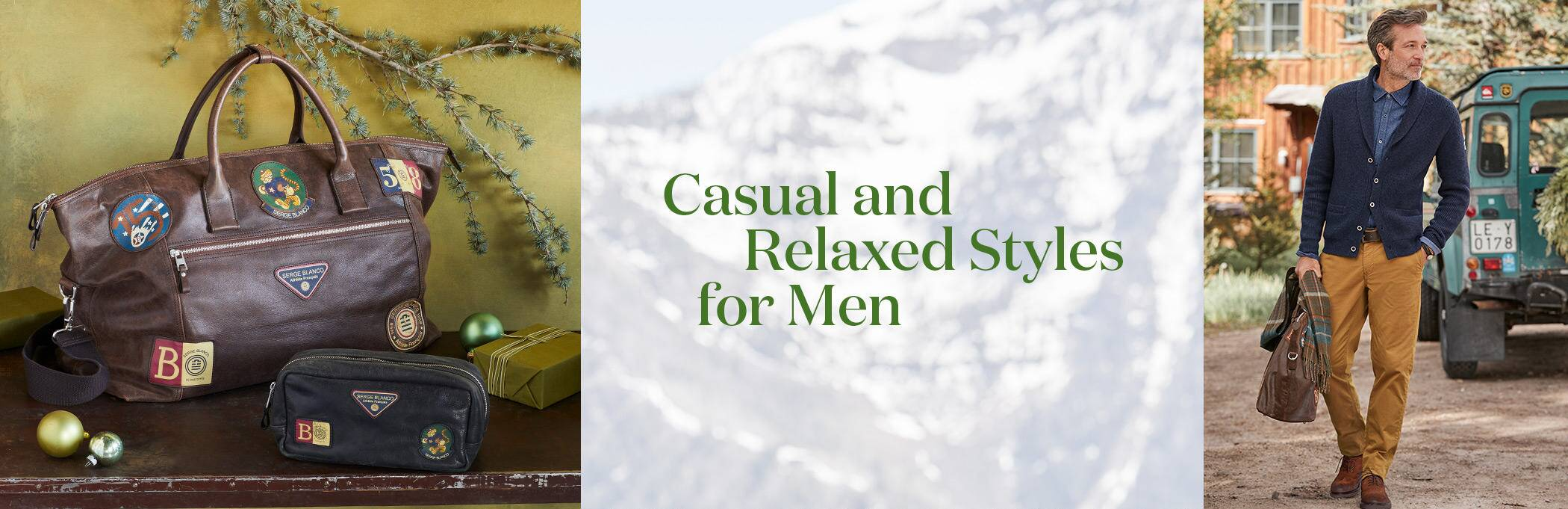 Casual and relaxed styles for Men