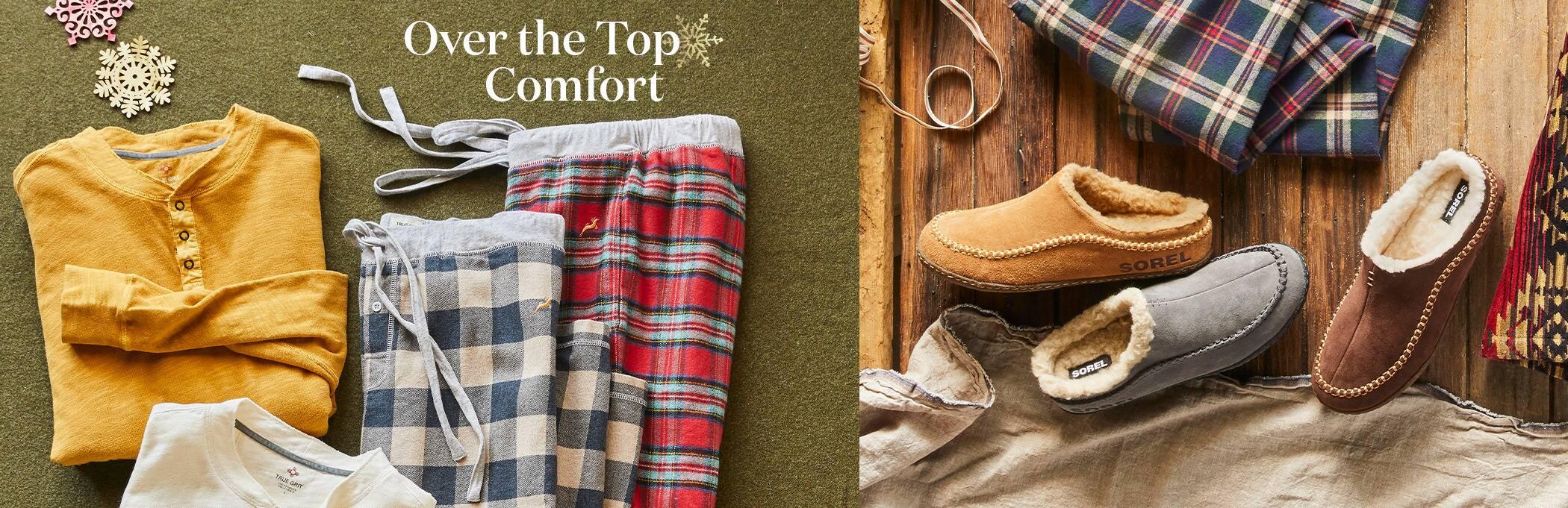 Men's Sleepwear and Slippers