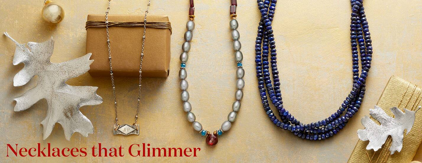 Necklaces that Glimmer